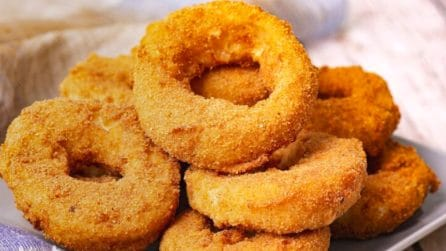 Mac and cheese stuffed onion rings: you've never tried anything like it before!