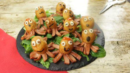 Polipetti di wurstel in pastella: divertenti, sfiziosi e saporiti!