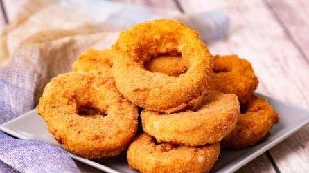 Anelli di cipolla ripieni: in questo modo non li avete mai mangiati!