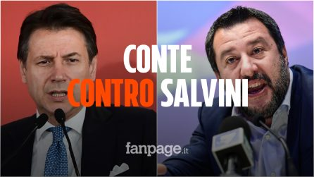 """Giuseppe Conte contro Matteo Salvini: """"Non siamo i tuoi passacarte, devi portare rispetto"""""""