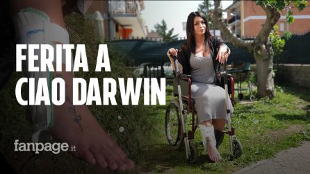 """Deborah Bianchi: """"Frattura alla caviglia nel Genodrome di Ciao Darwin, quel gioco è pericoloso"""""""