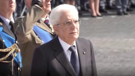 25 aprile: Sergio Mattarella celebra l'anniversario della Liberazione