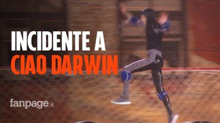 """Incidente a Ciao Darwin, parla una testimone: """"Non riusciva a respirare"""""""
