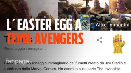 Thanos, come usare il guanto su Google: l'easter egg per l'uscita di Avengers Endgame