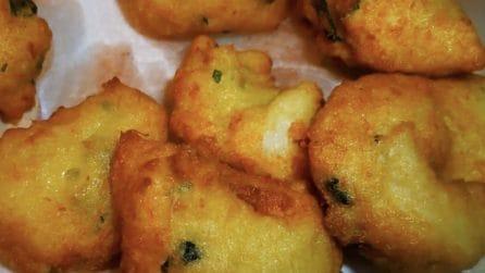 Frittelle di baccalà: la ricetta per averle croccanti e saporite