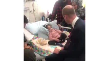 Principe William incontra Alen Alsati, sopravvissuta agli attacchi terroristici in Nuova Zelanda