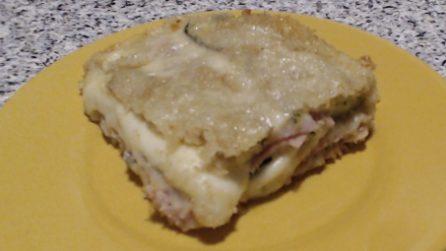 Parmigiana bianca di zucchine: perfetta per un pranzo o cena veloci