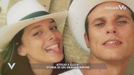 L'amore tra Attilio Fontana e Clizia Fornasier