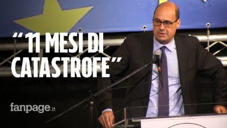 """Nicola Zingaretti, apre la campagna per le europee a Napoli: """"Questo governo è una catastrofe"""""""