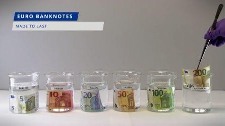 Arrivano le nuove banconote da 100 e 200 euro: le prove di resistenza