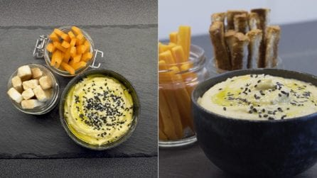 Come preparare l'hummus a casa con soli 5 ingredienti!