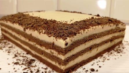 Torta al cioccolato senza farina: soffice e cremosissima