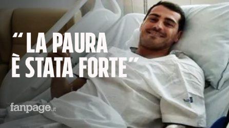 """Iker Casillas: l'infarto del miocardio e la corsa il ospedale, ora tranquillizza i fan: """"Sto bene"""""""