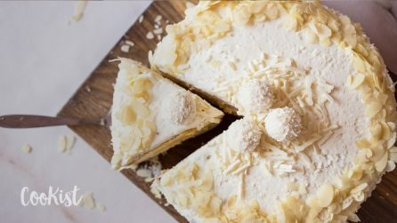 Coconut cake: it's supremely moist with a soft fluffy!