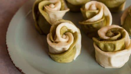 Brioches al vapore a forma di rosa: un dolcetto bello e buono!