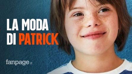 Patrick, ha 11 anni, ed è il primo bambino con la sindrome di Down a diventare modello di Zara