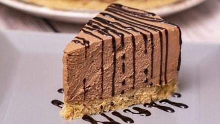 Cheesecake al mascarpone e cioccolato: senza cottura pronta in poche ore!