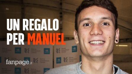 Manuel Bortuzzo compie 20 anni: riceve in regalo un labrador speciale