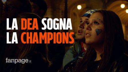 """I tifosi dell'Atalanta: """"Forza Dea, ora regalaci la Champions"""""""