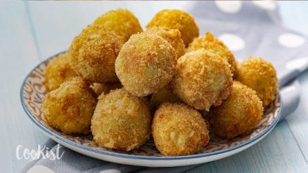 Crispy french fry croquettes: crispy on the outside, soft on the inside and sure to please everyone!
