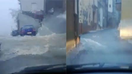 Maltempo Sicilia, violento nubifragio colpisce Caltanissetta