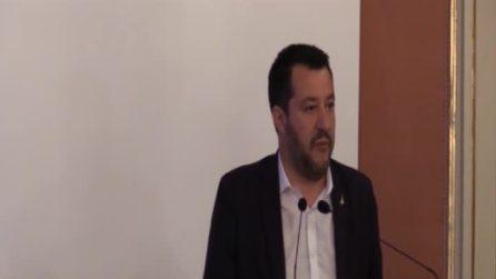 """Napoli, Salvini: """"Proporrò in Cdm piano di unità nazionale contro le mafie"""""""