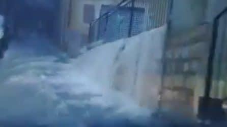 Emergenza maltempo, violento nubifragio in provincia di Caltanissetta