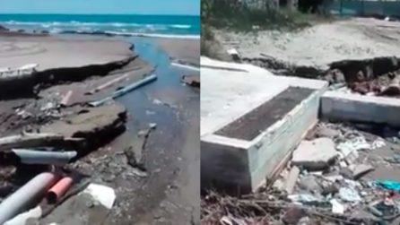 Anzio, la situazione della spiaggia libera è allarmante