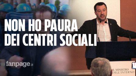 """Scontri a Napoli, Salvini: """"Non ho paura di due centri sociali"""""""