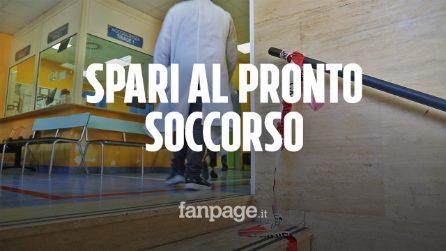 Napoli far west, spari al pronto soccorso dell'ospedale Pellegrini, in pieno centro