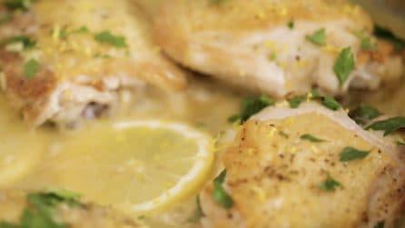 Pollo al limone: pochi ingredienti per un piatto cremoso e pieno di gusto