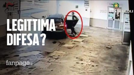 Rapina in villa a Monterotondo, il video del ladro ferito lasciato dai complici in ospedale