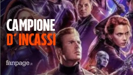 """""""Avengers: Endgame"""" è il secondo miglior incasso di sempre: in 11 giorni batte """"Titanic"""""""