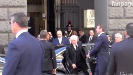 """Mattarella a Napoli per il """"Simposio Cotec Europa"""""""