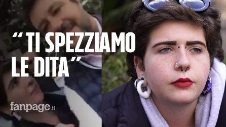"""Valentina e il video del selfie-beffa con Matteo Salvini: """"Mi hanno detto """"ti spezziamo le dita"""""""