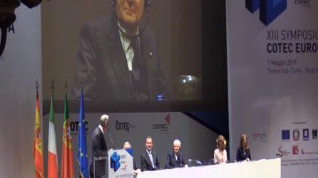 Napoli, il presidente portoghese saluta Mattarella in italiano e cita Elena Ferrante