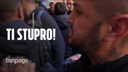 """La violenta protesta di Casal Bruciato contro la casa ai rom: """"Put***a, ti stupro!"""""""