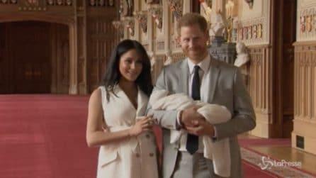 """""""Ho i due ragazzi migliori al mondo"""": Meghan e Harry presentano il royal baby"""