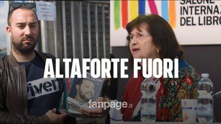 """Salone Libro, la sopravvissuta all'Olocausto contro Altaforte: """"Non potevo stare vicino ai fascisti"""""""