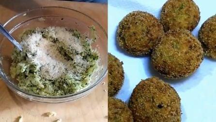 Polpette di zucchine: al forno o fritte, saranno deliziose