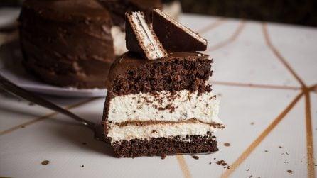Torta crema e cioccolato: come trasformare una famosa merendina in un dolce super goloso!