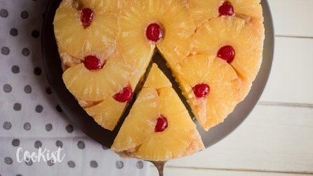 Caramel upside down pineapple cake: moist and fluffy!