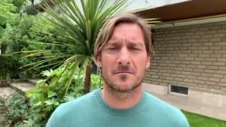 Incendio Centocelle: Francesco Totti manda un saluto al ragazzo-eroe