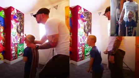 Trasforma la sua cameretta in un cartone animato: la sorpresa speciale di un papà a suo figlio