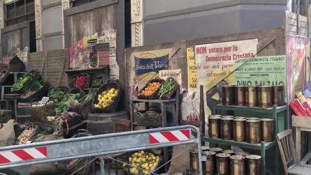 Amica Geniale 2, corso Umberto I a Napoli diventa un set