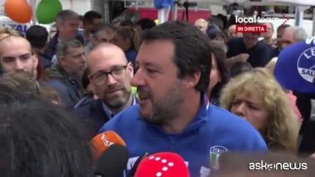 """Migranti, Salvini: """"Rifiuto pensare che M5s voglia riaprire porti"""""""