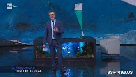 Fabio Fazio annuncia l'ultima puntata Che Tempo che Fa