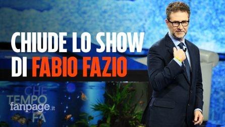 """""""Che fuori tempo che fa"""", è polemica: Rai 1 cancella le ultime tre puntate dello show di Fabio Fazio"""