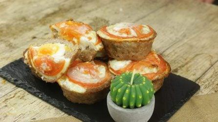 Cestini di carne e uova: un secondo piatto sfizioso e saporito pronto in pochi minuti!