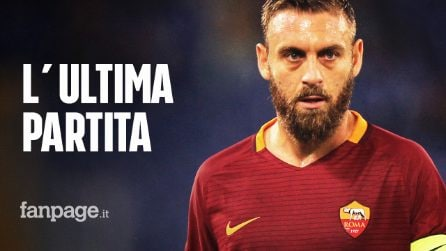 Daniele De Rossi lascia la Roma: contro il Parma l'ultima partita in maglia giallorossa